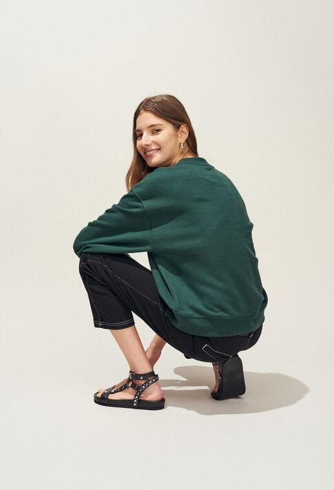 TREKKING : Knitwear & Cardigans color VERT IMPERIAL
