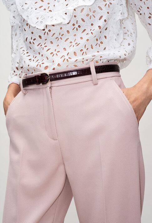 ADELACROCOH19 : Belts color COQUELICOT