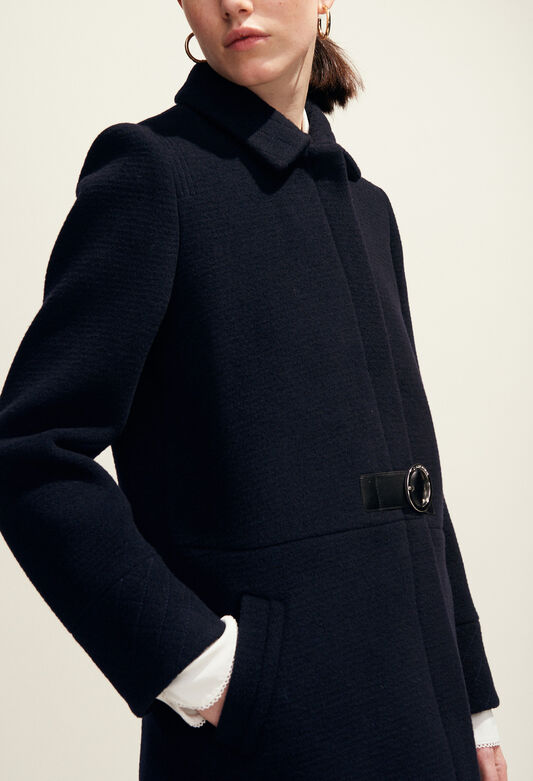 GINGEMBRE : Coats & Jackets color Navy