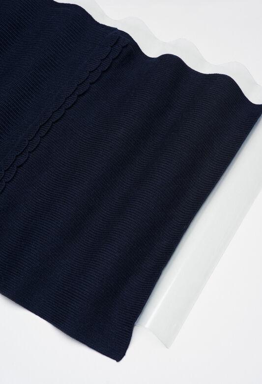 MIDIH19 : Scarves color GRIS CHINE FONCE