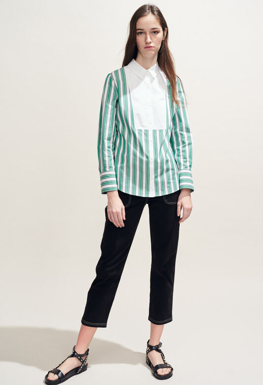 CAJOU : Tops & Shirts color VERT IMPERIAL