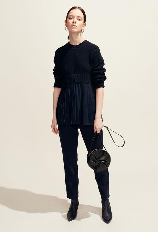 MONCIEL : Knitwear & Cardigans color Navy