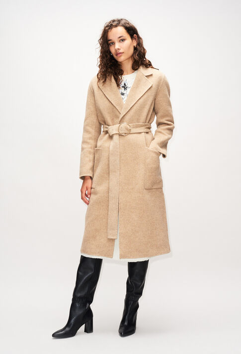 GANIAH19 : Coats & Jackets color SABLE