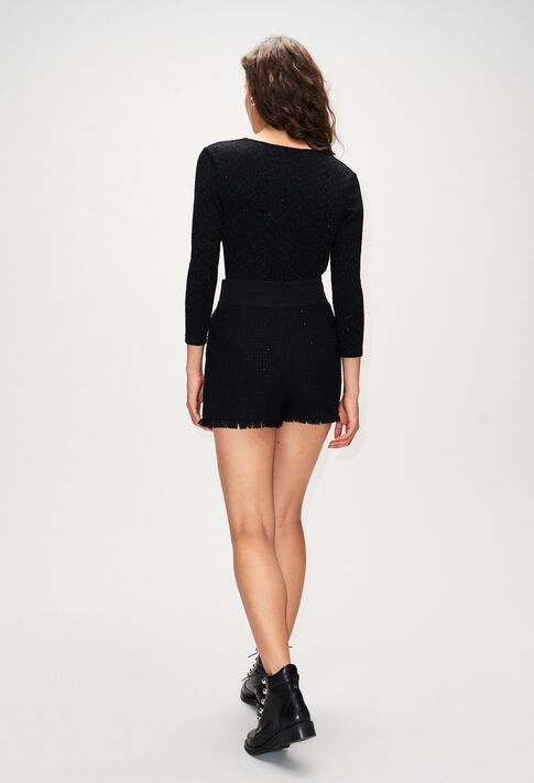 ESTERH19 : Skirts & Shorts color BLACK
