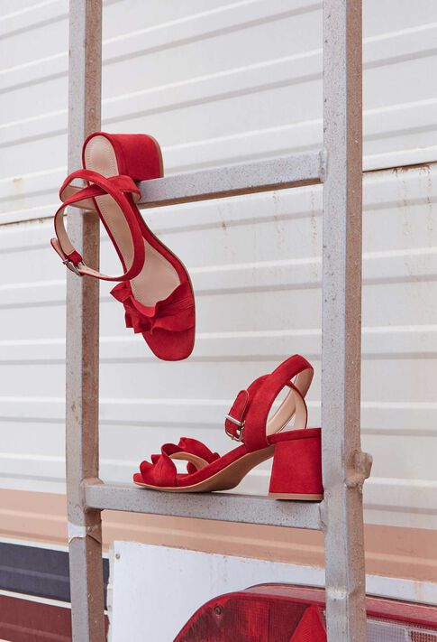 ANVERS TER : Shoes color Red