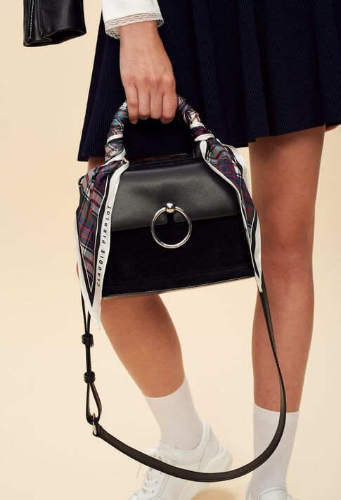 ANOUCK BIS SMALL : Bags & Leather Goods color Black