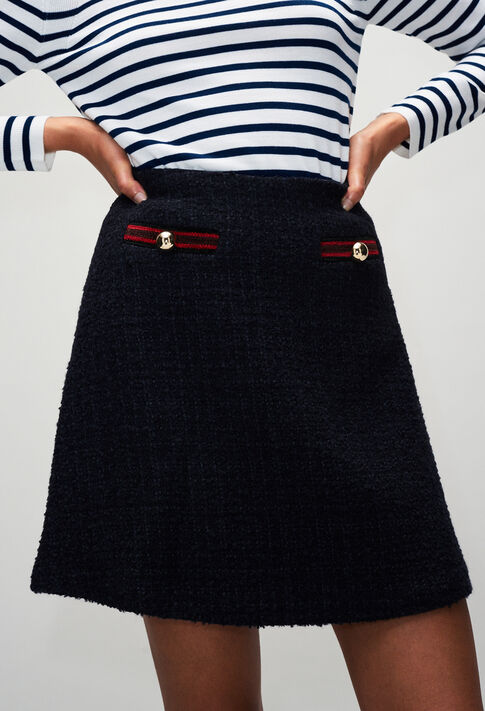 SAVANAH19 : Skirts & Shorts color NAVY