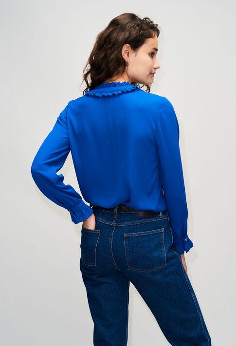 BUSINESSH19 : Tops & Shirts color BLEU ROI