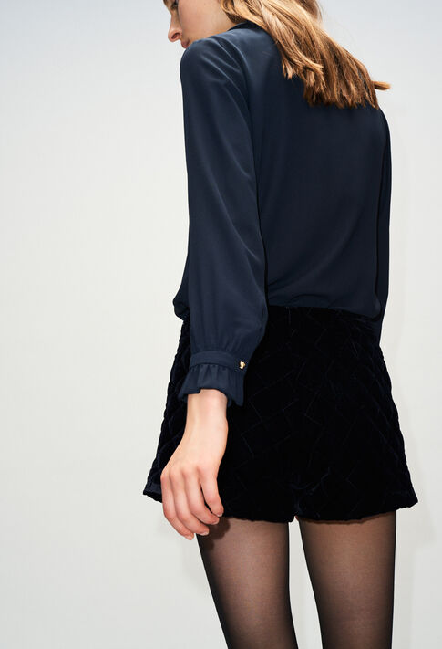 BUSINESSH19 : Tops & Shirts color NAVY