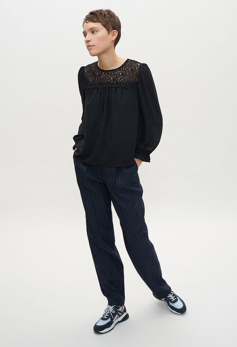 BAMBINE20 : Tops & Shirts color BLACK