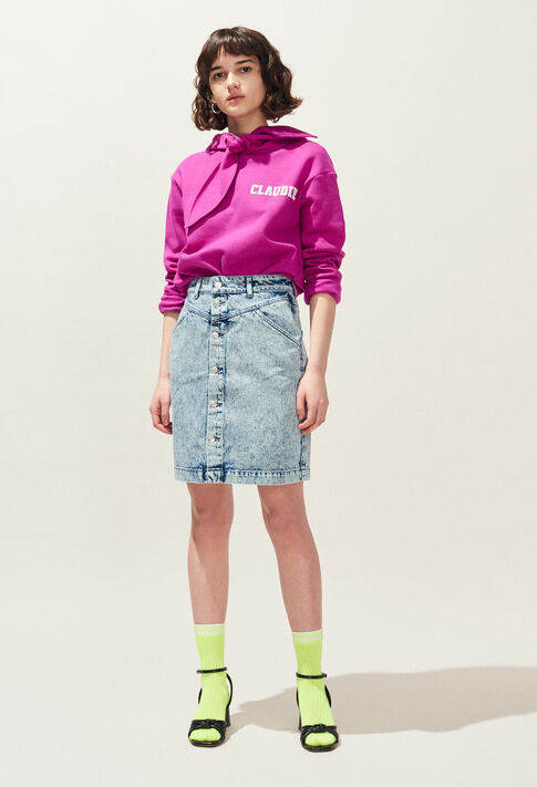 SOLE : Skirts & Shorts color Jean