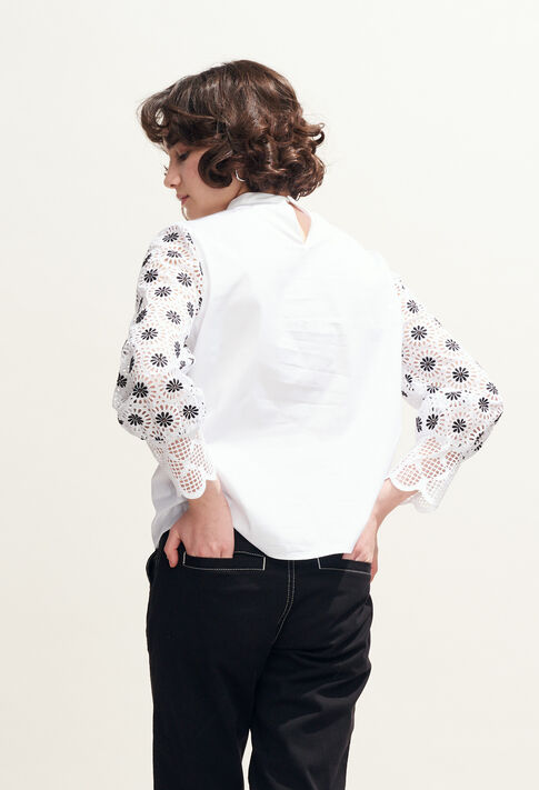 BAZIN : Tops & Shirts color BLANC