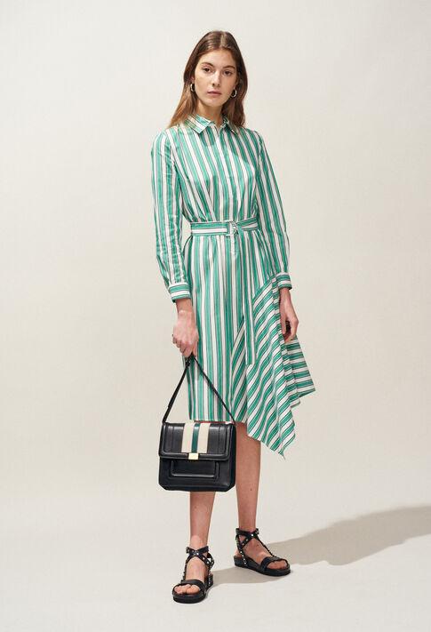 RICKLE : Dresses color VERT VEGETAL
