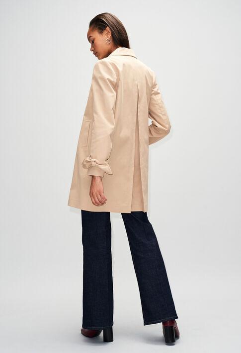 GENZIANAH19 : Coats & Jackets color BEIGE