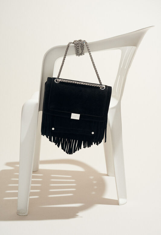 ANGELA : Bags & Leather Goods color Black