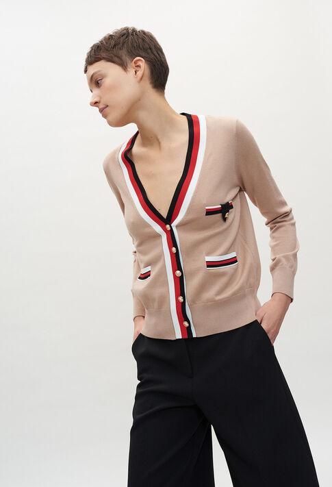 MACEDAE20 : Knitwear & Cardigans color BEIGE