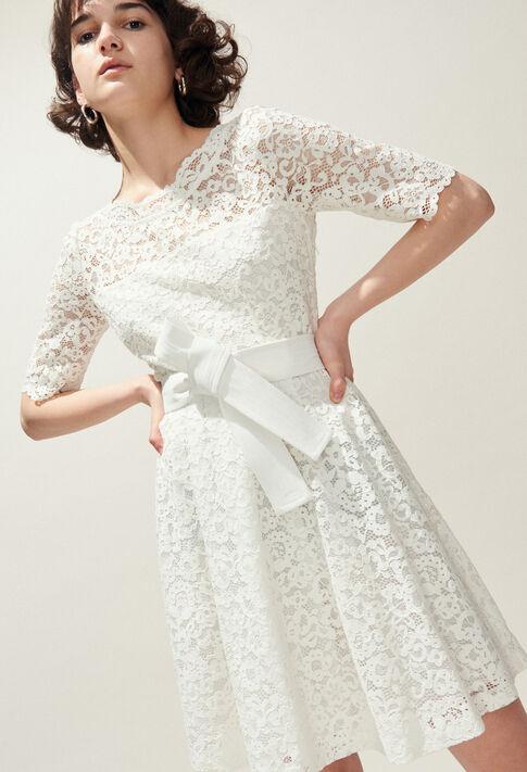 ROSELIE BIS : Dresses color Ecru