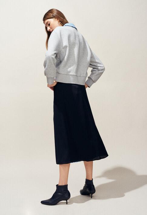 TAIPEI : Knitwear & Cardigans color Mottled Grey
