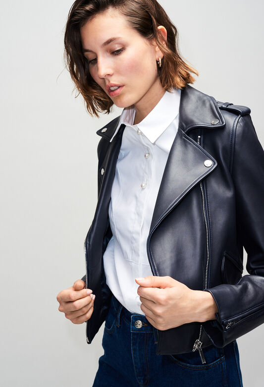 COQUILLETTEH19 : Coats & Jackets color NAVY