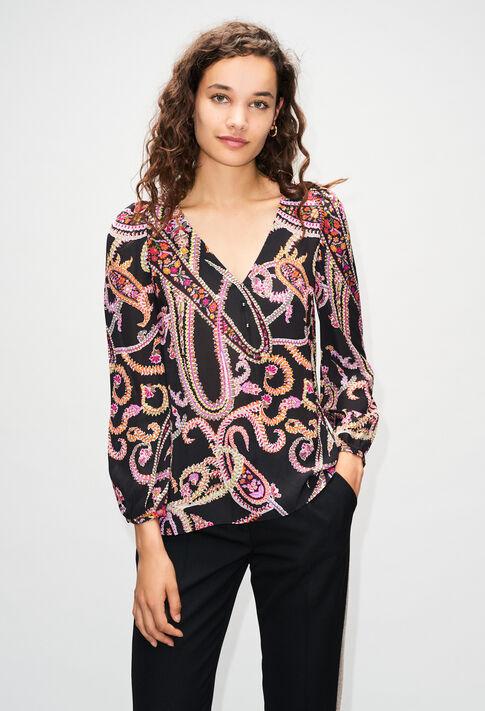 BERTILLEH19 : Tops & Shirts color PRINT