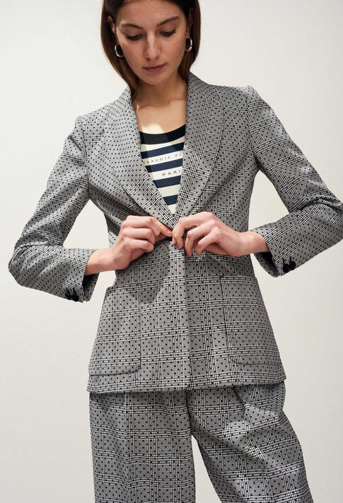 VICTORIUS : Blazers color Mottled Grey