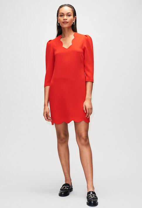 RIVAH19 : Dresses color ROUGE
