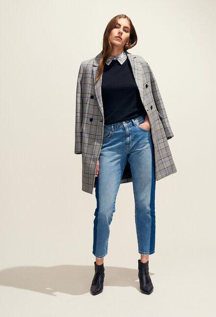 GABON : Coats & Jackets color Mottled Grey