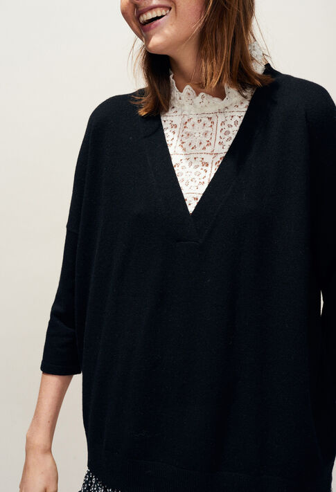 MANIANA : Knitwear & Cardigans color Black