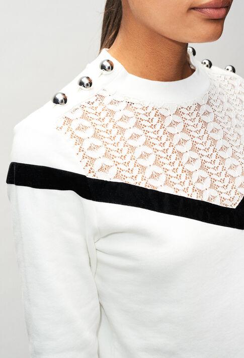 TAMAH19 : Knitwear & Cardigans color ECRU