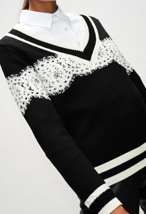 MIKEH19 : Knitwear & Cardigans color BLACK
