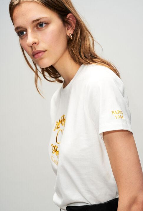 TOURNESOLH19 : T-shirts color ECRU