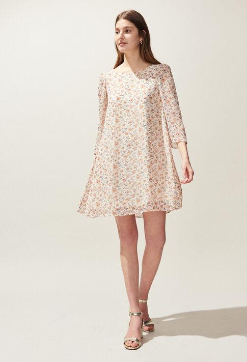 RIFIFI ENNA : Dresses color IVOIRE