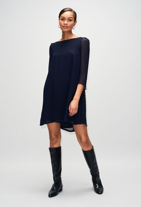 RIFIFIPLUMETISH19 : Dresses color NAVY