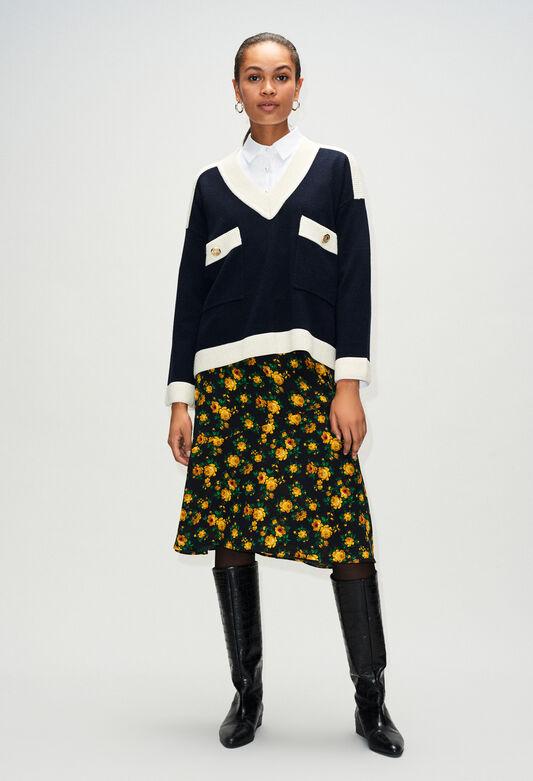 MASCYH19 : Knitwear & Cardigans color NAVY