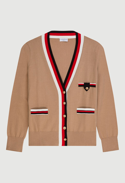 MACEDAE20 : Knitwear & Cardigans color BEIGE