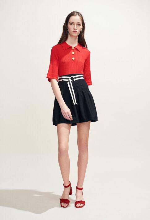 MALUNE : Knitwear & Cardigans color ECARLATE