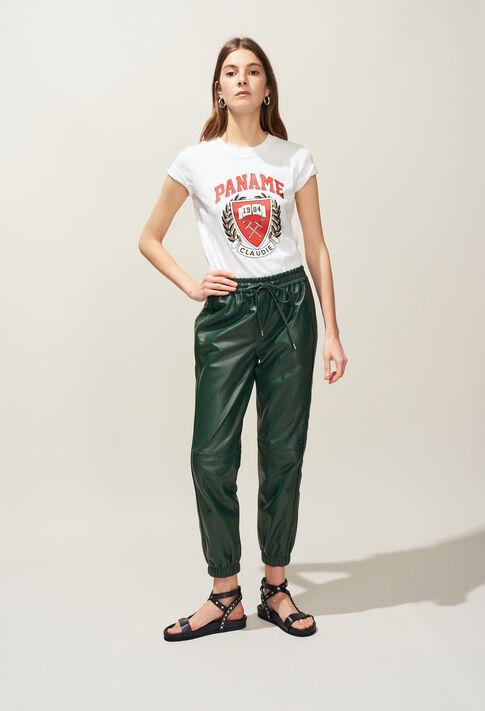 TAOSSA : T-shirts color Ecru