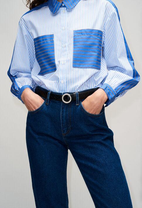 ALIGATOMATELASSEH19 : Belts color BLACK