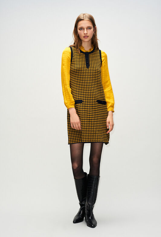 MERCATOH19 : Dresses color BICOLORE