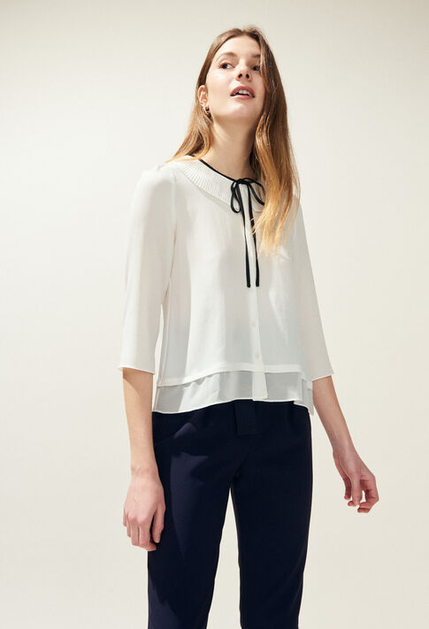 CHARLINE : Tops & Shirts color Ecru