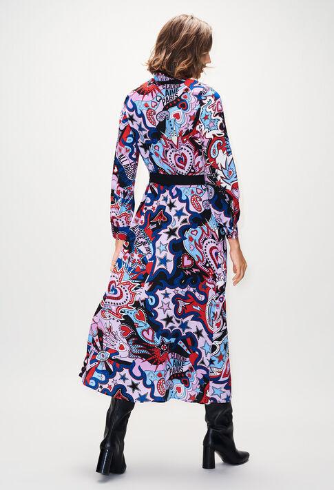 ROSALINDAH19 : Dresses color PRINT