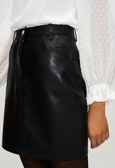 CLEYAH19 : Skirts & Shorts color BLACK