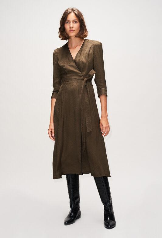 RUSEEH19 : Dresses color KAKI ARMY