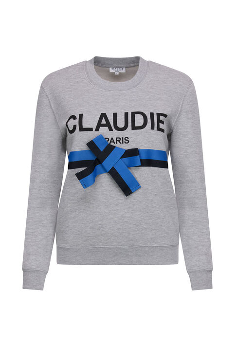 TRADI : Knitwear & Cardigans color Mottled Grey