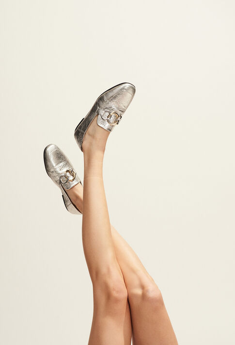APPOLONIA : Shoes color Silver