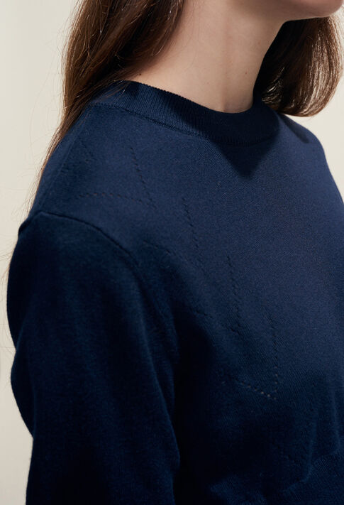 MOTIVATE : Knitwear & Sweatshirts color Navy