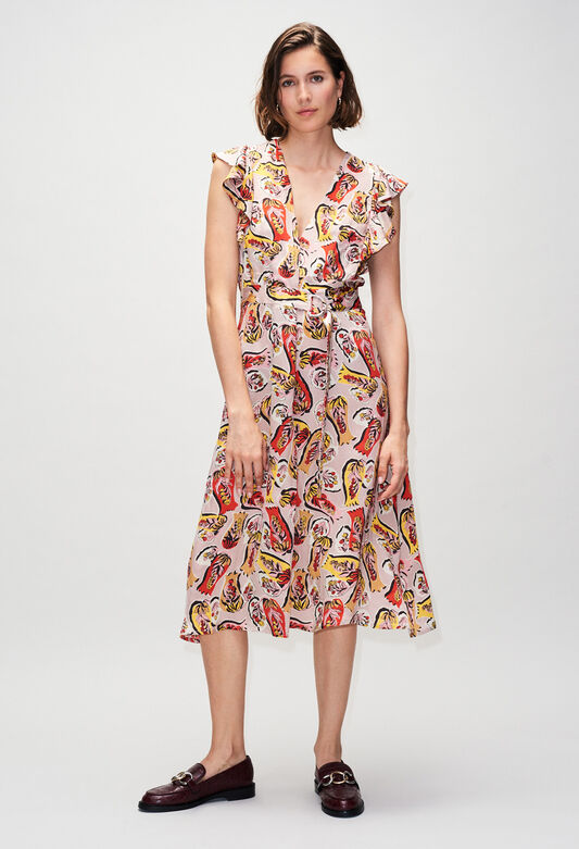 RAVENEH19 : Dresses color PRINT