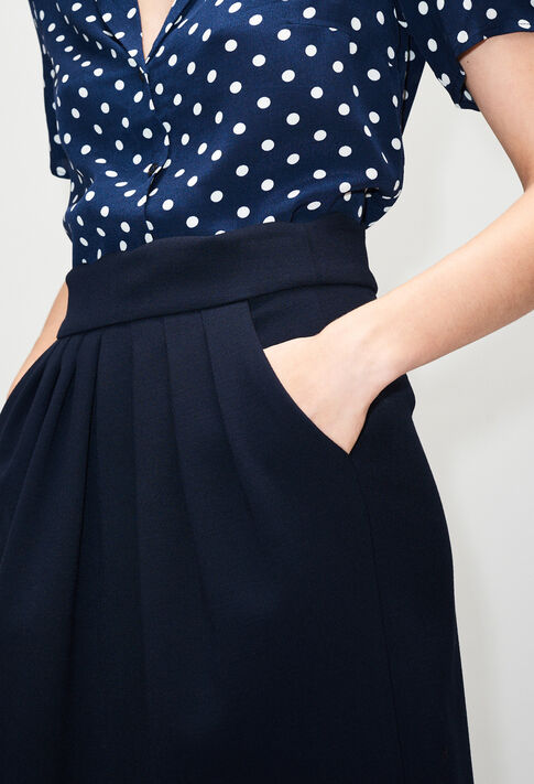 SYLVIAH19 : Skirts & Shorts color NAVY