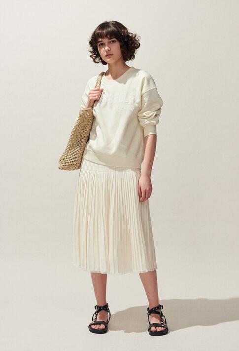 TESCHIC : Knitwear & Cardigans color Ivoire
