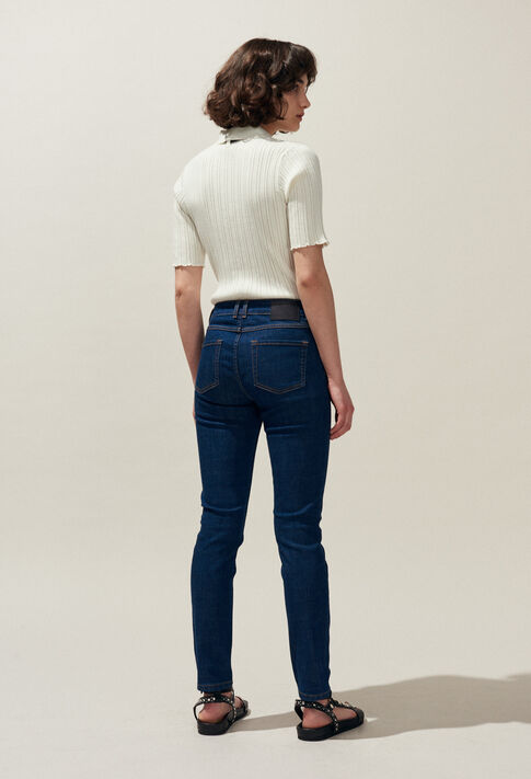 PATRICIA BIS : Jeans & Pants color Jean